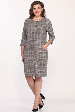 Платье Lady Style Classic 2094 клетка
