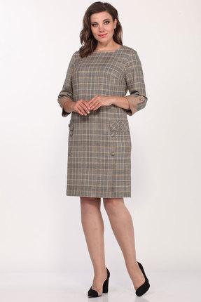Платье Lady Style Classic 1986 клетка