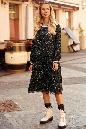 Платье Vesnaletto 2387 черный