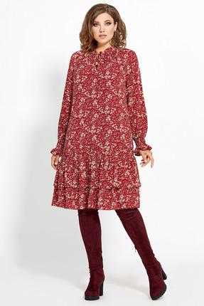 Платье Мублиз 418 красный