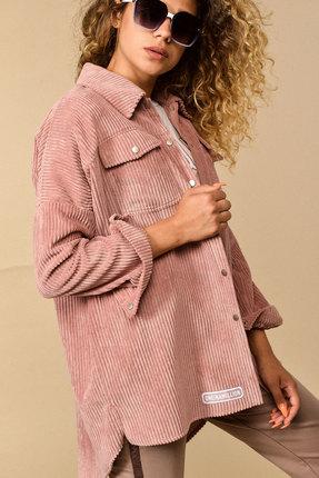 Рубашка Сч@стье 7114 розовые тона