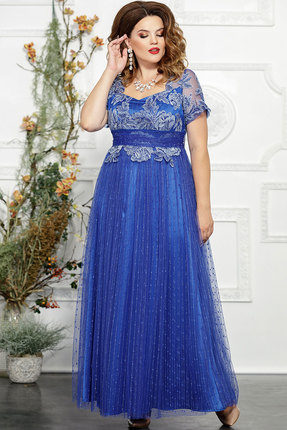 Платье Mira Fashion 4827-2 василёк