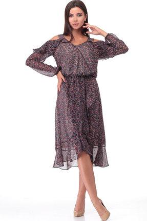 Платье TawiFa 1044 мультиколор