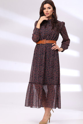 Платье TawiFa 1045 мультиколор