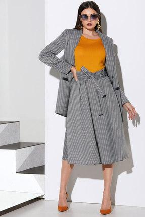Комплект юбочный Lissana 4094 серый