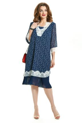 Платье TEZA 690 синий