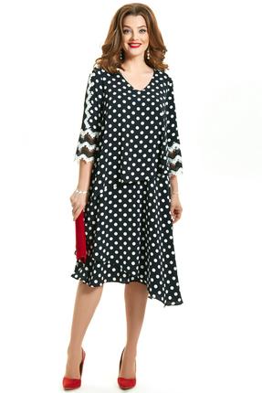 Платье TEZA 1552 черный