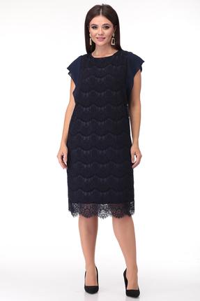 Платье Anastasia Mak 748 синий