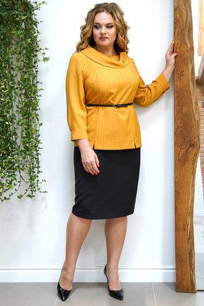 Комплект юбочный Alani 1199 желтый с черным фото