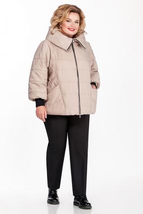 Куртка Pretty 954 бежевые тона