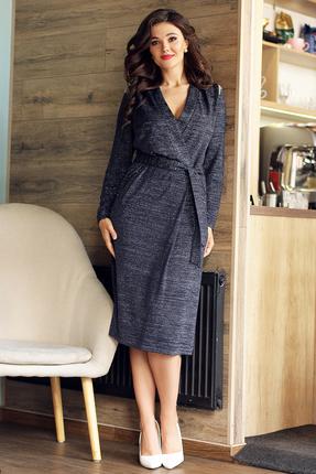 Платье Мода-Юрс 2541 темно-синий