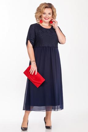 Платье Pretty 1165 темно-синий