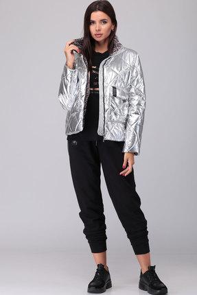Куртка TawiFa 1047 серебро