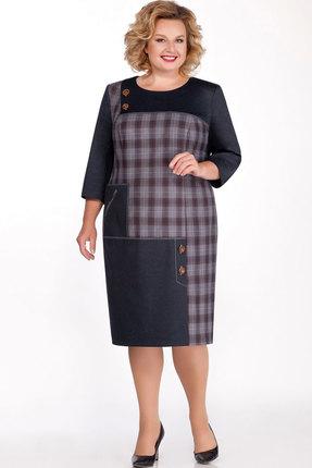 Платье Теллура-Л 1390.1 джинс