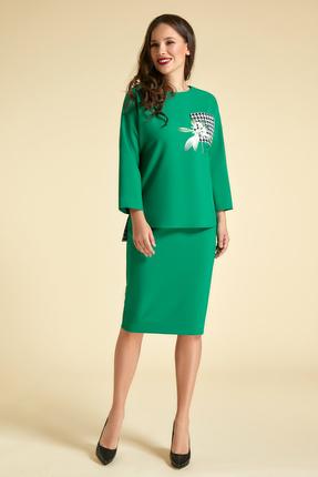 Комплект юбочный Магия Моды 1786 зеленый фото