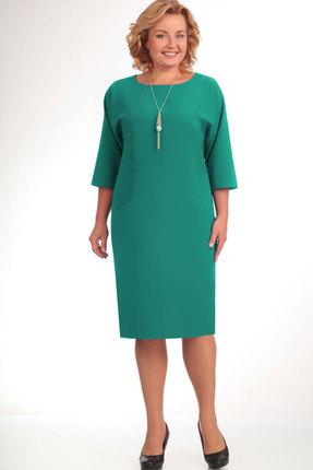 Платье Elga 01-472 светлая зелень