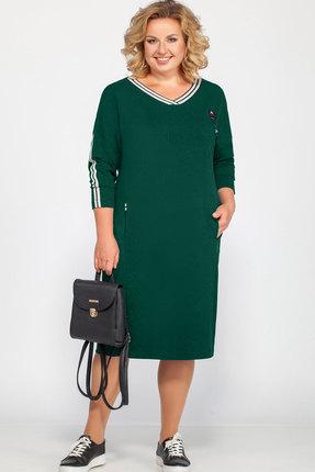 Платье Bonna Image 436 зеленый