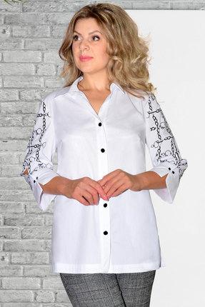 Рубашка Needle Ревертекс 436 белый