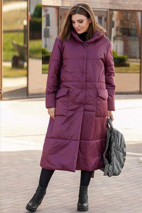 Пальто Lady Secret 6296 бордовый