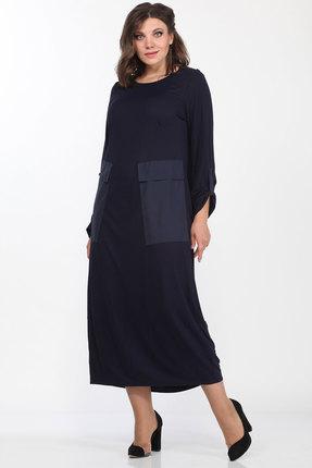 Платье Lady Style Classic 1633 синий