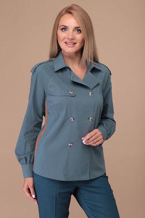 Рубашка Danaida 1912 антрацитово-серый