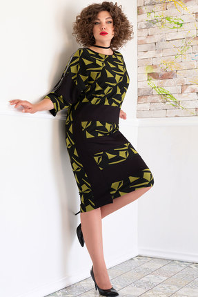Платье Avanti Erika 920-5 черный с зеленым фото