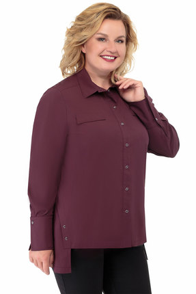 Рубашка БелЭкспози 1316 бордо