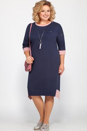 Платье Bonna Image 448 тёмно-синий