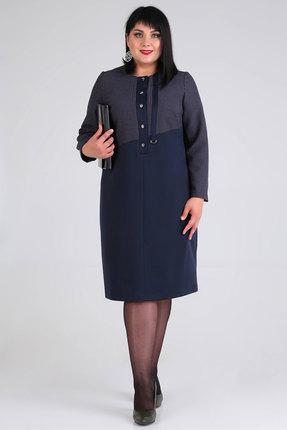 Платье Algranda 3568-с синий
