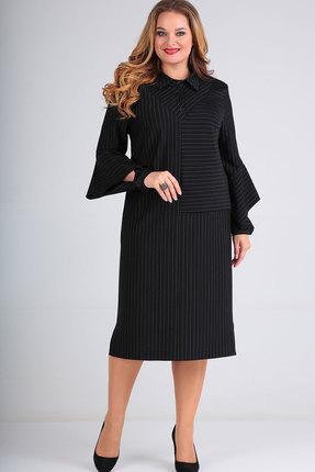 Платье Elga 01-677 чёрный