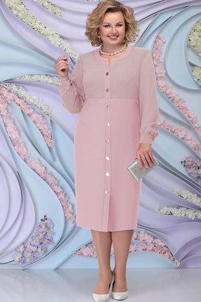 Платье Ninele 7300 пудра