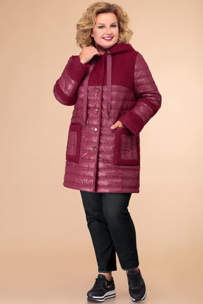 Куртка Svetlana Style 1451 винный