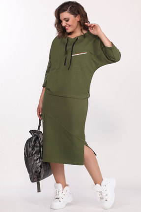 Комплект юбочный Lady Secret 1593 зеленый