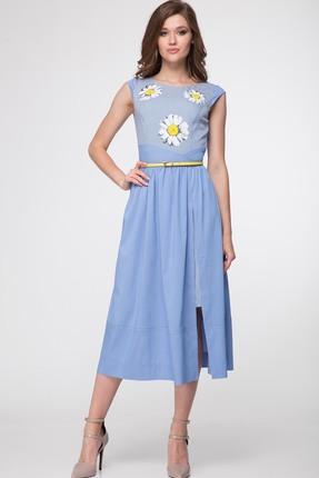 Платье Lady Three Stars 1777 Голубой