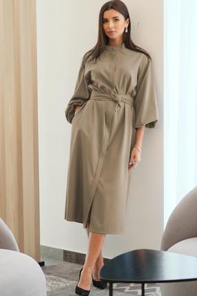 Платье Ladis Line 1266 Кофейный