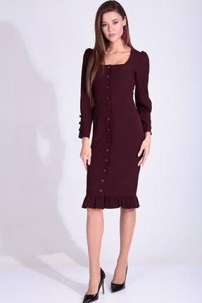Платье Axxa 55160 Бордо