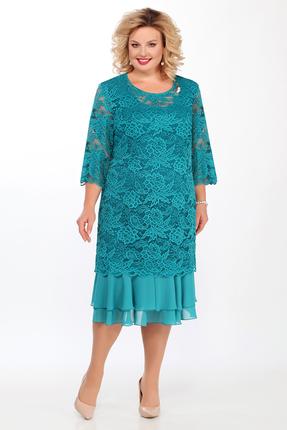 Платье Pretty 906 бирюзовый