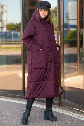 Пальто Lady Secret 6273 бордовый
