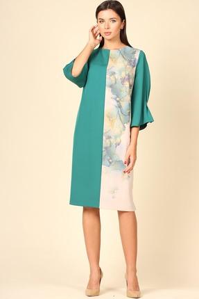 Платье Faufilure 1103 Изумруд