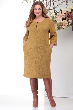 Платье Michel Chic 2021 желтые тона