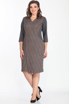 Платье Lady Style Classic 1694/1 серые тона