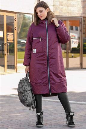 Пальто Lady Secret 6274 бордовый