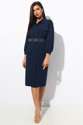 Платье Миа Мода 1144.1 синий
