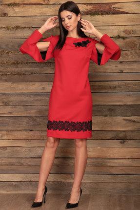 Платье Angelina & Co 422 красный