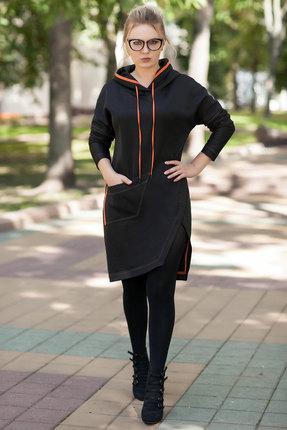 Платье Euromoda 297 черный