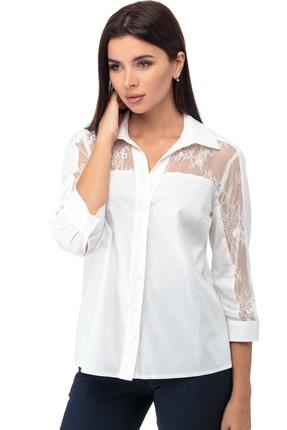 Блузка Anelli 645 белые тона