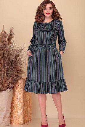 Платье Асолия 2488 мультиколор