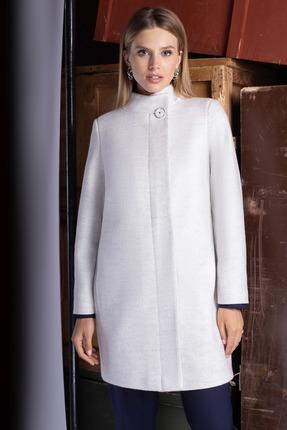 Пальто ЮРС 20-372-1 бело-молочный