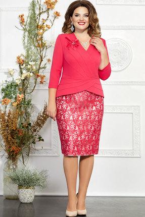 Платье Mira Fashion 4850 коралл
