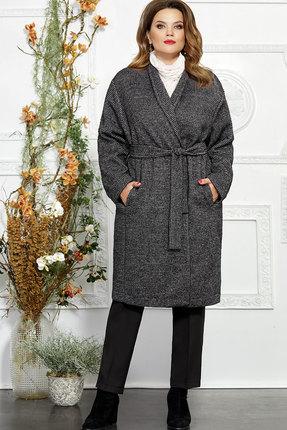 Пальто Mira Fashion 4845 серый